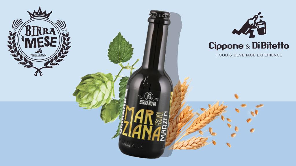 Marziana, una birra a bassa fermentazione ispirata allo storico stile tedesco delle Marzen.